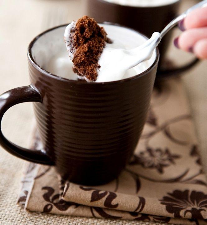 Нутела торта во чаша | Mug recipes, Nutella mug cake, Mug cake