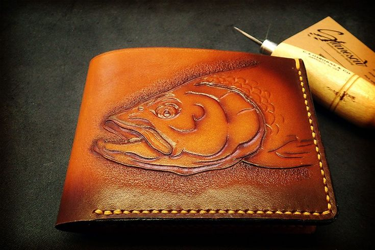 Aspius Wallet – Stanescu Leathercraft