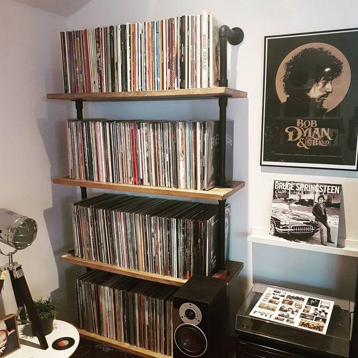 25 best ideas about vinyl record storage on pinterest. Black Bedroom Furniture Sets. Home Design Ideas
