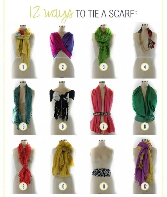 SCARF SCARF SCARF!!: Ties Scarves, Fashion, Style, Ties A Scarfs, Scarfs Ideas, Tieascarf, Scarfs Ties, Tie A Scarf, Wear A Scarfs