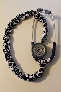 Made With Love and Imperfections: Stethoscope Cover.....First Attempt :-)