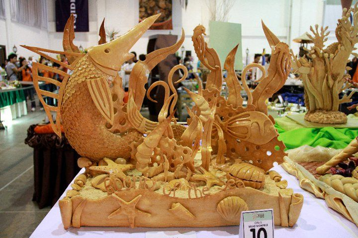 Bread Decoration Or Bread Showpieces Class 15c Bread
