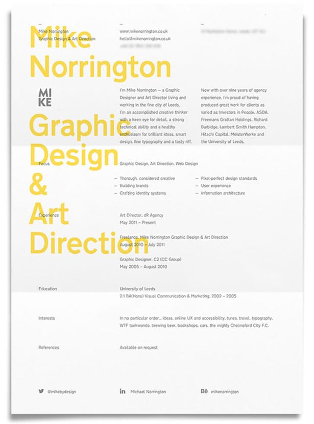 253 best Creative Resume images on Pinterest Creative resume - examples of creative resumes