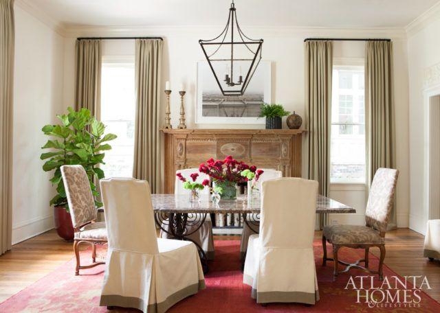 @atlantahomesu0026lifestyle. Dining Room TablesInterior IdeasMindfulJan 2017Room  DecorWindow TreatmentsTable SettingsRanchDining Tables