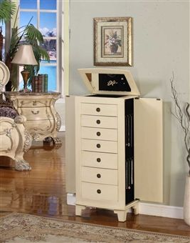 Stand Alone Jewelry Box Classy 13 Best Large Floor Standing Jewelry Box Cabinet Images On Pinterest Review