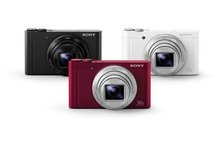 Kompaktní fotoaparáty Sony Cyber-shot DSC-HX90 a DSC-WX500
