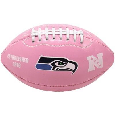 Seattle Seahawks Pink Mini Logo Football #FanaticsSummerWishList