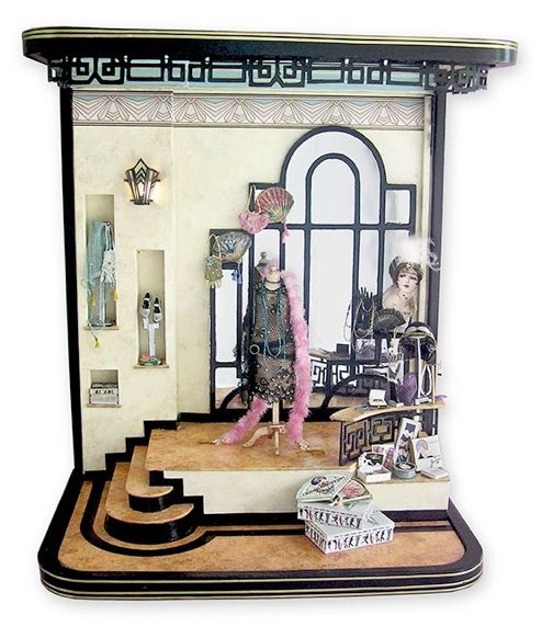 386 Best Images About MINIATURE ROOM BOX On Pinterest
