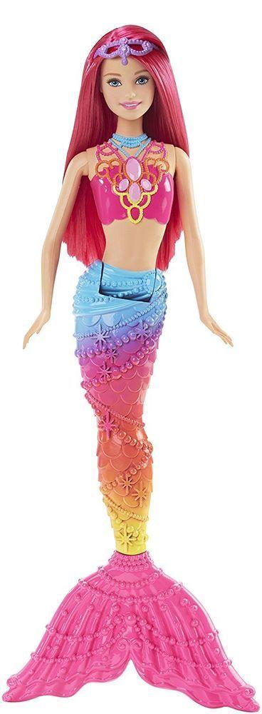 New Barbie Mermaid Doll Fairytale Kingdom Baby Kid Girl Toy Gift,Rainbow Fashion #Barbie #RainbowFashion