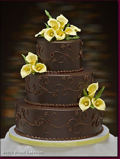 chocolate wedding cake idea 79 best images about chocolate brown wedding cakes on 12766
