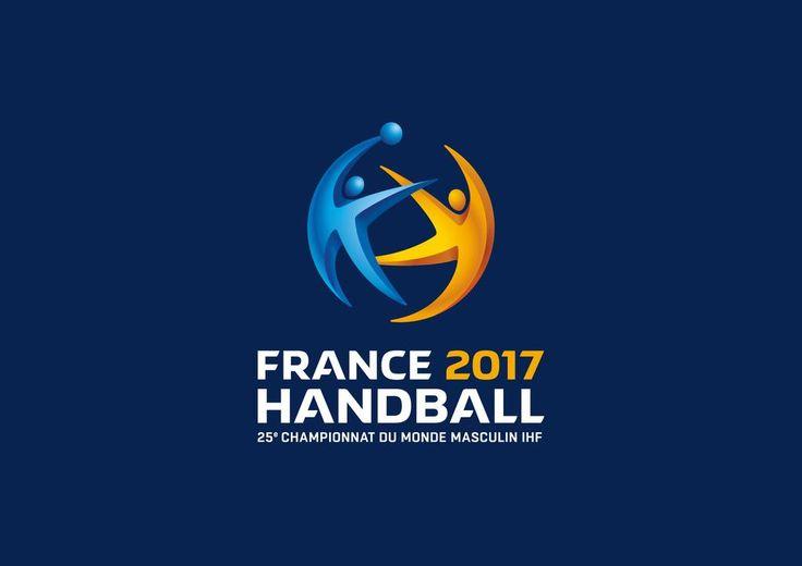 France 2017 Handball - 25ème Championnats du Monde Masculin | Logo