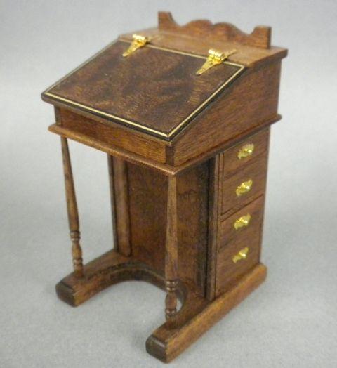 Davenport Desk Miniature Pinterest