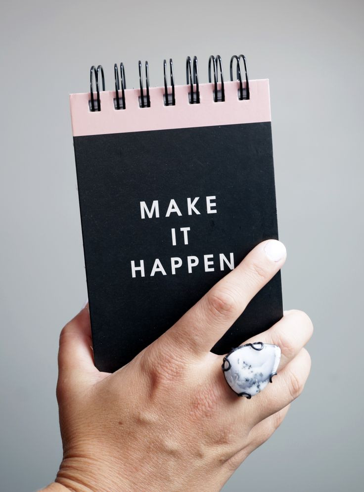 make it happen / a little monday morning morning inspiration (and a statement ring) via megan auman