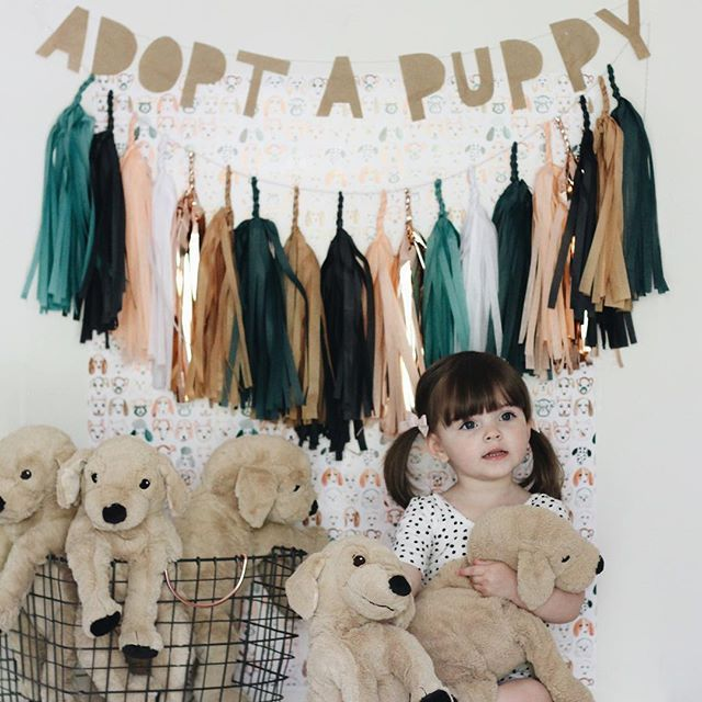 Adopt A Puppy ~ great idea for B-day Party