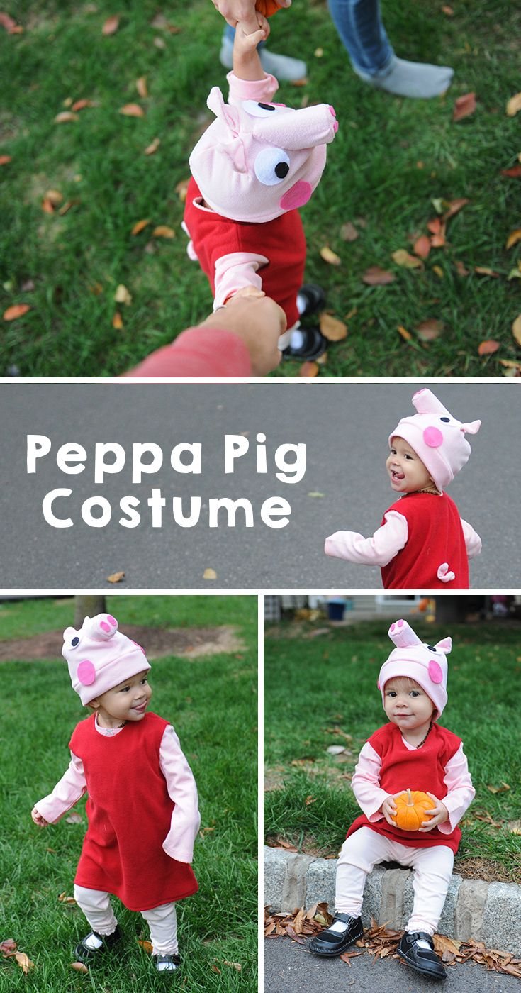 The most amazing handmade Peppa Pig Halloween Costume