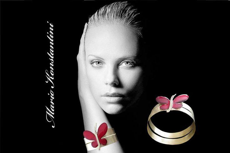 #bracelet #vraxioli #butterfly #petalouda #woman #black #and #white