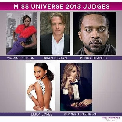 Yvonne Nelson elected as judge of Miss Universe pageant Ghana Audition