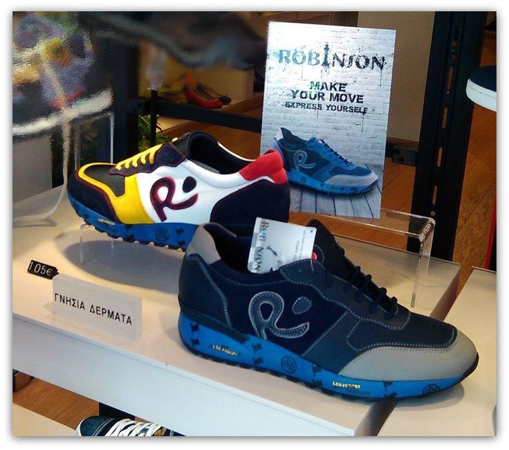 #robinson #casual #shoes www.mylonas-shoes.gr #aigaleo !!! #man