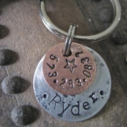 Stylish, modern pet ID tags. For you and your pet! Okay, maybe just for them.