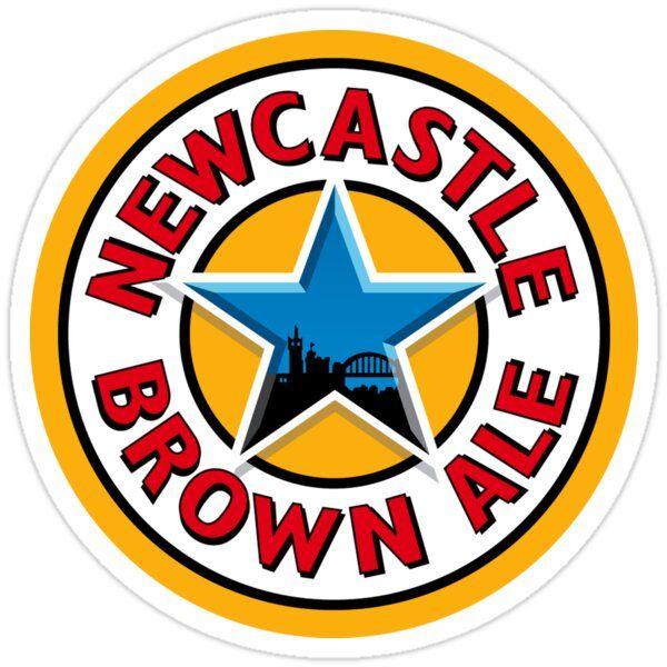 Newcastle Brown Ale Sticker Newcastle Brown Ale Newcastle Brown Beer Logo