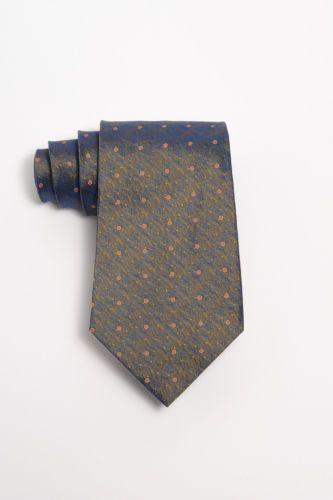 Cerruti 1881 100 Silk Tie Blue Prismatic Made in France   eBay