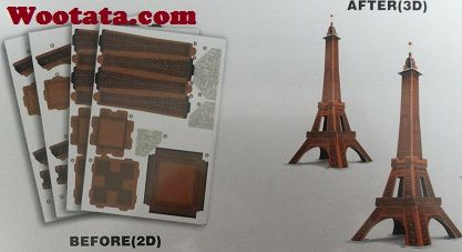 Jual Puzzle 3D Eiffel Tower