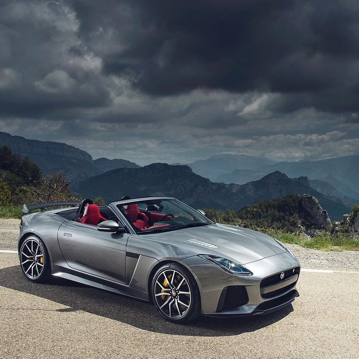 The calm before the storm. #Jaguar #FTYPE #SVR #AWD #Convertible #Supercar #CarsofInstagram