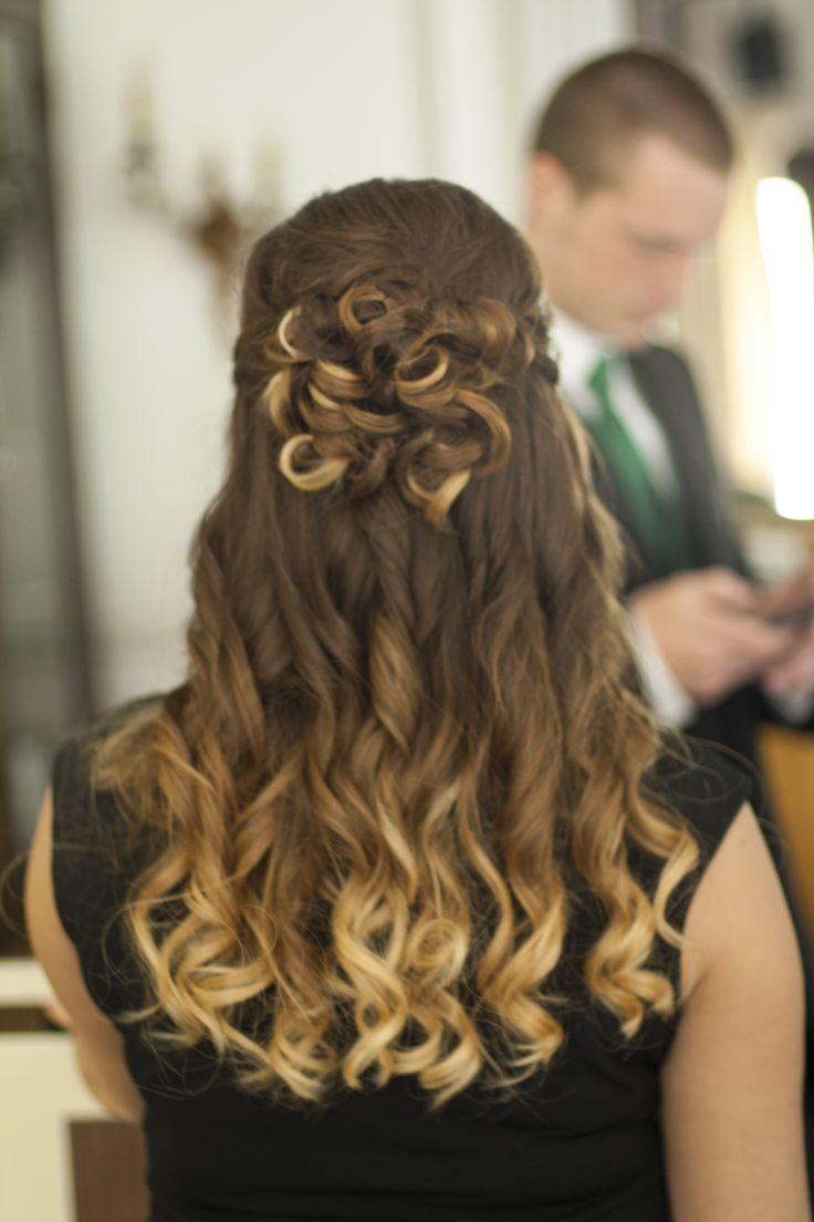 Ombre Wedding Hair Wedding Hair Pinterest Ideas The