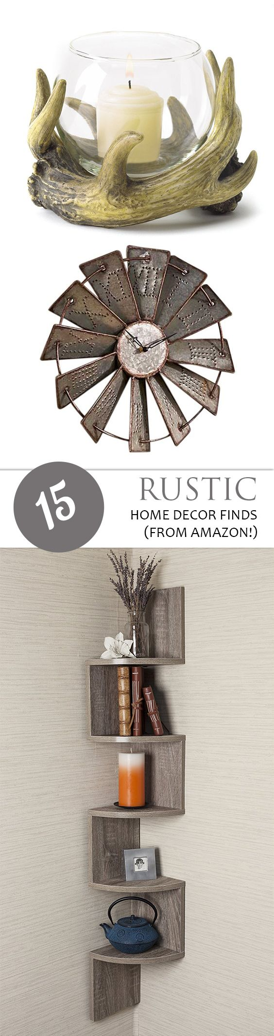 Affordable Rustic Wall Decor : Best inexpensive home decor ideas on