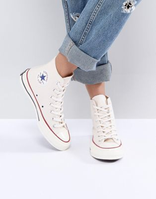 db81e184dce Converse Chuck Taylor All Star '70 High Top Sneakers In Beige ...