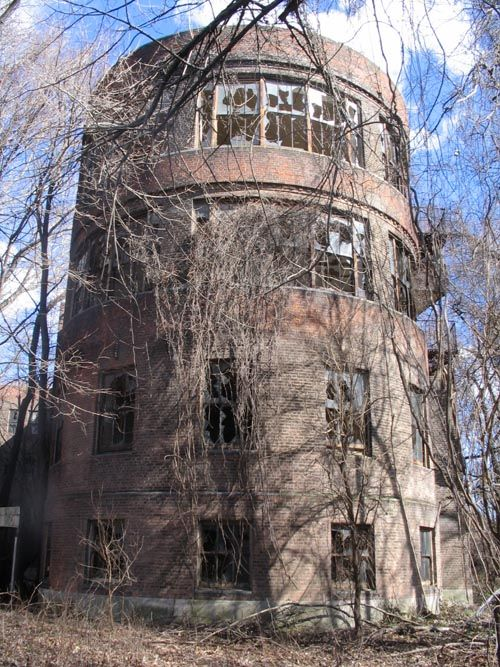 Tuberculosis Pavilion, North Brother Island, East River, The Bronx