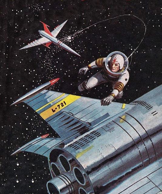 Rare Wonderful 1950s Space Art: 246 Best Retro-Future Images On Pinterest
