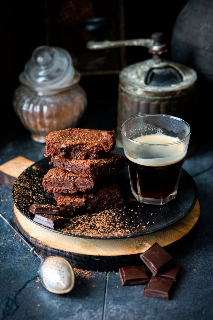 Brownies and espresso
