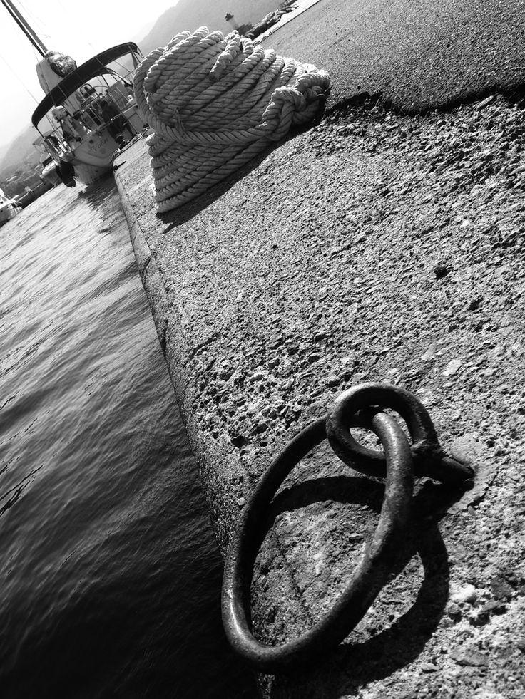 Sur les quais - Saint Florent