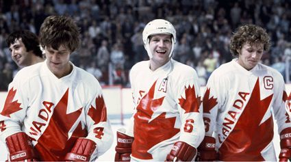 Canada's roster at the Canada Cup in 1976 included many stars, including Orr, Potvin, and Clarke.