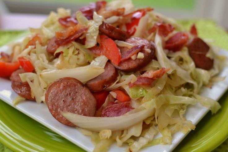 You are just a few minutes away from this deliciouslow carb Cabbage Bacon Sausage Stir Fry. This scrumptious recipe keeps things simple with just a handful of ingredients. Sometimes the simple recipes are the best ones! Quick to shop and quick to fix Cabbage Bacon Sausage Stir Fry is dependable and delectable every time. Stir...Read More »