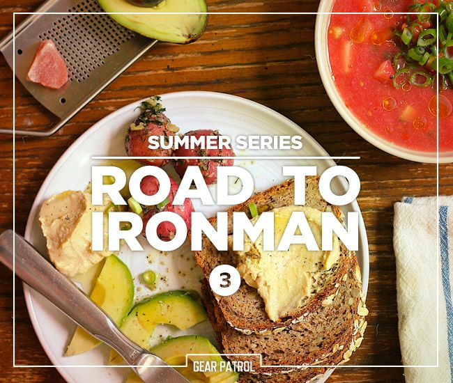 road-to-ironman diet. I have no intention of doing an ironman race, but the diet has got to be better than what I eat on an average day.