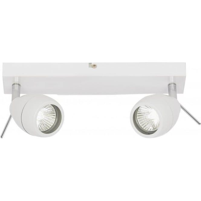 £48 Utility  Endon EL-20094 | Bathroom Spotlight | IP44 White Ceiling Spotlights                                                                                                                                                                                 More