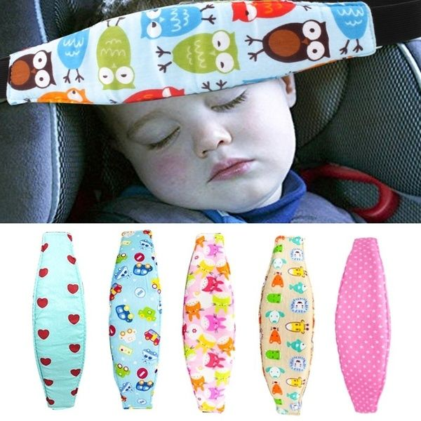Safety Car Seat Sleep Nap Infants Baby Head Support Pram Belt Adjustable Playpens Sleep Positioner