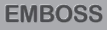 How to Create the Bevel & Emboss effects for editable text in Adobe Illustrator