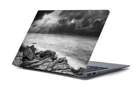 Naklejka na laptopa - Wzburzone morze 4456