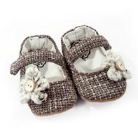 Tweed & Flower handmade baby shoes by Myang