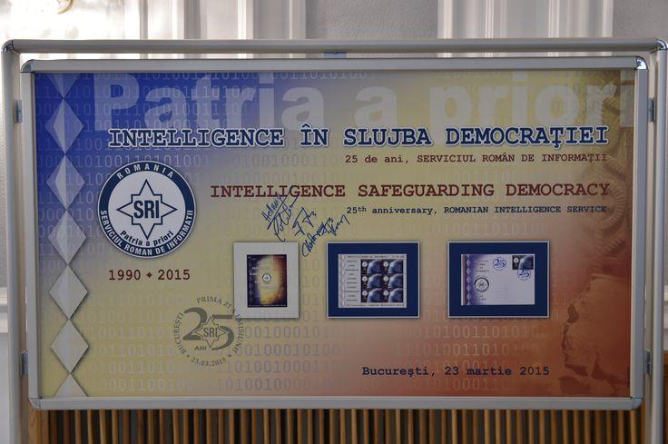 Intelligence în slujba democraţiei, SRI - 25 de ani.