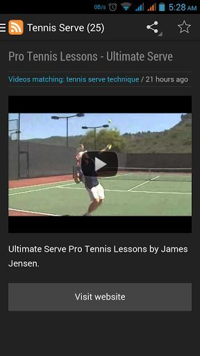LEARN TENNIS FAST is The Fastest way to learn tennis using your android smart phone, step by step instructional video , curated for your best and yet easy to follow guide. Applicable for absolute beginner, seasonal player on novice.  Be a Tennis Pro now :) !<p>Learn tennis provide various tennis technique learning via online video (internet connection required). Start from getting the right position for Tennis Serve, Awesome Tennis Forehand and Backhand Technique, learn how to master tennis…