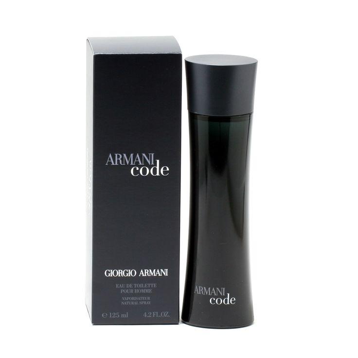 Armani Black Code For Men By Giorgio Armani -Eau De Toilette Spray