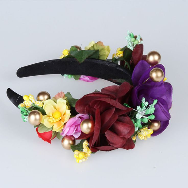 Paars bos stijl berry Haarspeld Bloemen Vrouwen Hoofdband Bruiloft haaraccessoires reizen fotografie Meisje Garland Hoofddeksel in   2016 berry Hairpins Floral Women Headband Wedding Party hair accessories travel photography Girl Garland hair cli van haaraccessoires op AliExpress.com | Alibaba Groep