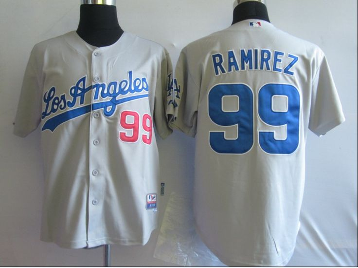 d14287aa7 ... new zealand only cost 19 for 2014 mlb jerseys los angeles dodgers 99  manny ramirez grey