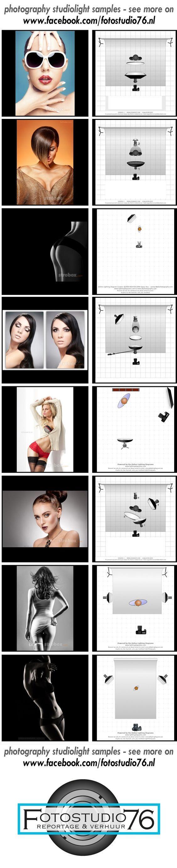 Geniales consejos de iluminación y fotografía photography studio light samples