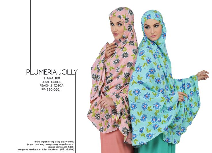 Plumeria Jolly - Tiara 180 Rossie Cotton Peach & Tosca AVAILABLE only IDR 290.000,-