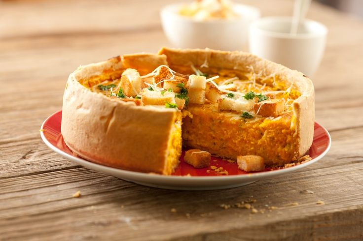 Tarta de calabaza y cebollas caramelizadas   Maru Botana